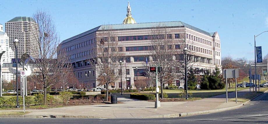 The Legislative Office Building in Hartford, Conn. (AP Photo — Bob Child) Photo: AP / AP