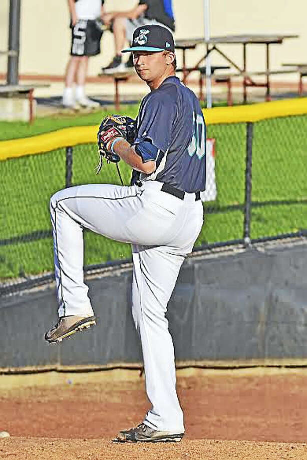Newtown's Kyle Wilcox is having a successful season as a versatile reliever for Clinton LumberKings, a Class A affiliate of the Seattle Mariners. Photo: Photo Courtesy Of The Clinton LumberKings
