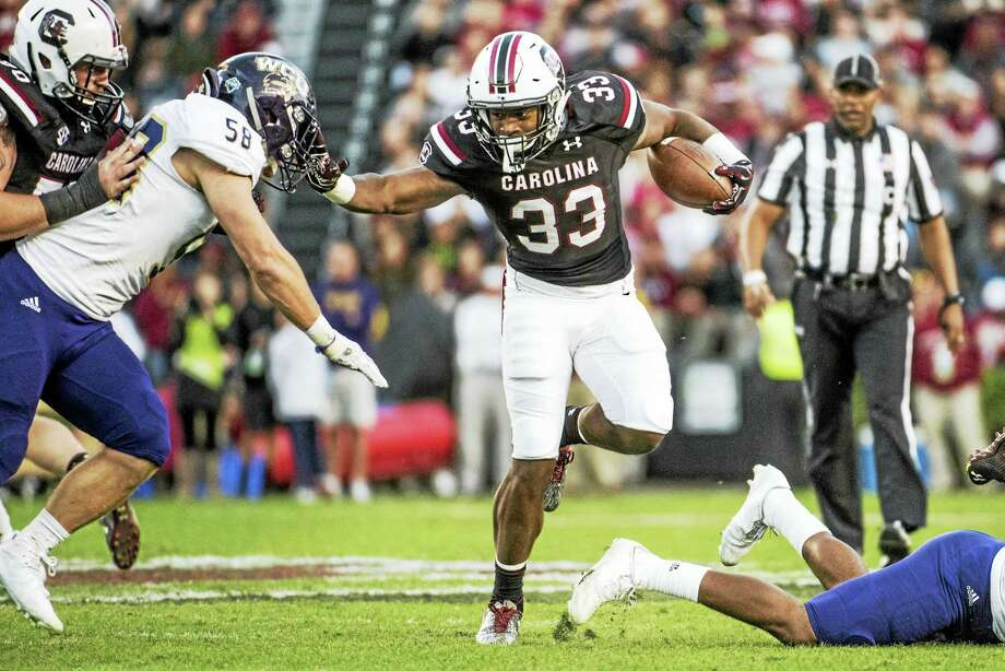 South Carolina running back David Williams, who was expected to join UConn as a graduate transfer, was not on the roster the team released on Friday. Photo: The Associated Press File Photo  / The Associated Press
