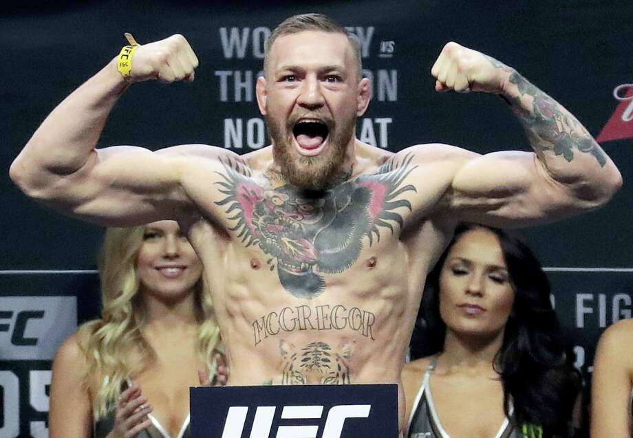 UFC start Conor McGregor. Photo: The Associated Press File Photo  / Copyright 2016 The Associated Press. All rights reserved.