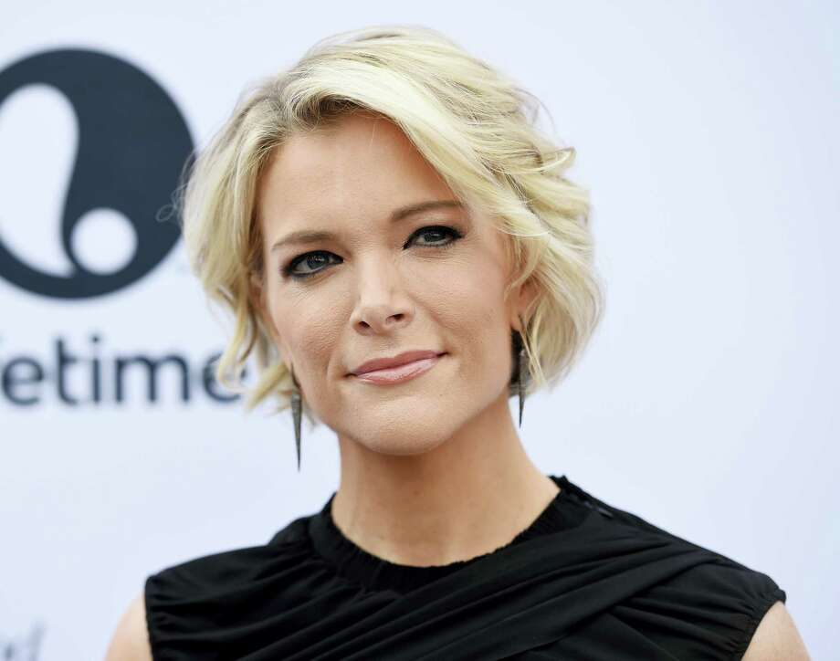 "In this Dec. 7, 2016, file photo Megyn Kelly poses at The Hollywood Reporter's 25th Annual Women in Entertainment Breakfast in Los Angeles. Kelly defended her decision to feature ""InfoWars"" host Alex Jones on her NBC newsmagazine despite taking heat Monday from families of Sandy Hook shooting victims and others, saying it's her job to ""shine a light"" on newsmakers. Critics argue that NBC's platform legitimizes the views of a man who, among other conspiracy theories, has suggested that the killing of 26 people at the Sandy Hook Elementary School in Newtown, Connecticut, in 2012 was a hoax. Photo: Photo By Chris Pizzello/Invision/AP, File   / 2016 Invision"