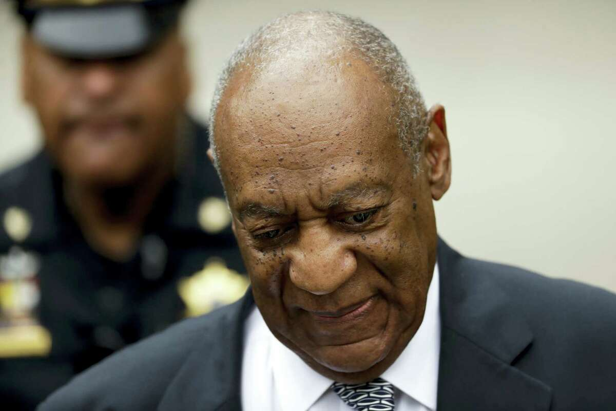AP Photo/Matt Slocum Bill Cosby arrives at the Montgomery County Courthouse during his sexual assault trial, Friday, June 16, 2017, in Norristown, Pa.