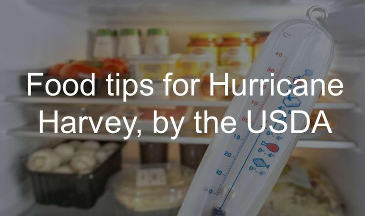 Food tips for Hurricane Harvey