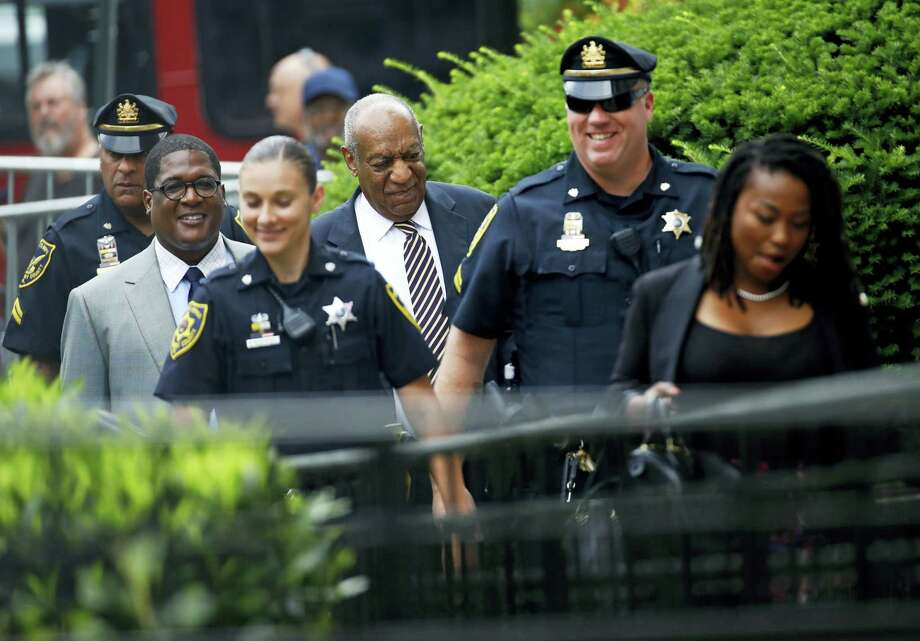 Bill Cosby arrives for jury deliberations in his sexual assault trial at the Montgomery County Courthouse in Norristown, Pa., Wednesday, June 14, 2017. Photo: AP Photo/Patrick Semansky   / Copyright 2017 The Associated Press. All rights reserved.