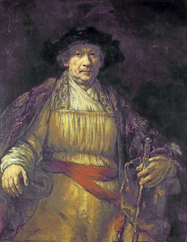 Rembrandt's self portrait.