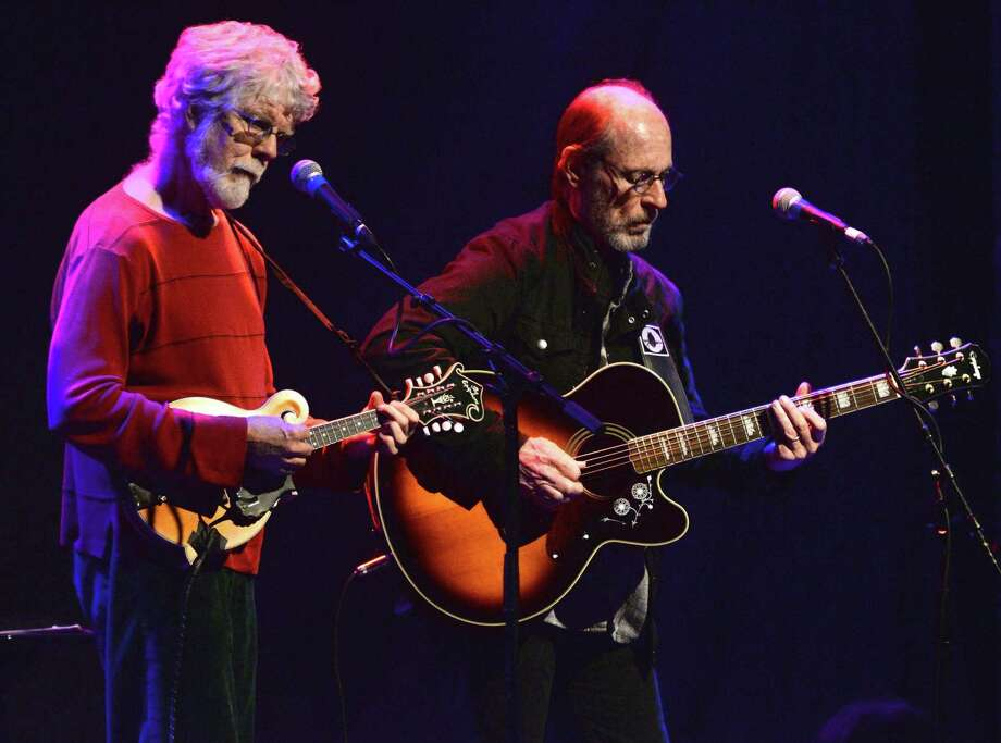 Mandolin player Fred Tackett and singer/guitarist Paul Barrere of Little Feat will be performing the music of Little Feat at Westport's annual Blues, Brews & BBQ Festival, which takes place Saturday and Sunday, Sept. 2 and 3, at the Levitt Pavilion. Photo: Scott Dudelson / Getty Images / Getty Images / 2014 Scott Dudelson