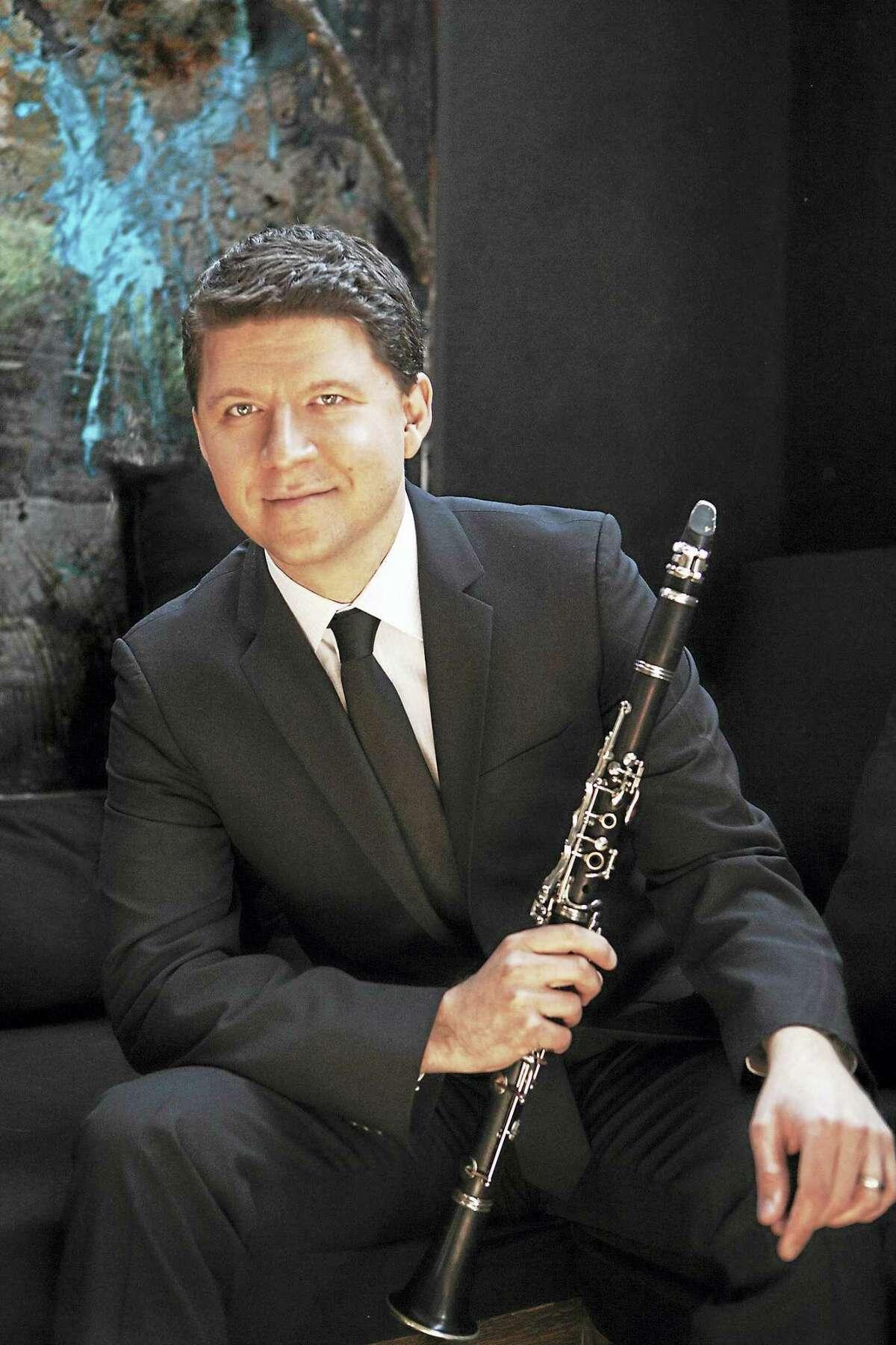 Clarinetist Alexander Filterstein.