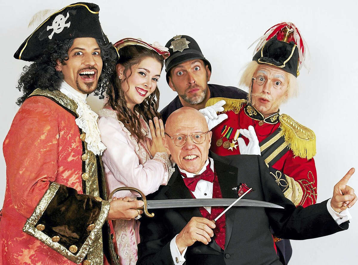 The New York Gilbert & Sullivan Players perform at Music Mountain on Saturday.