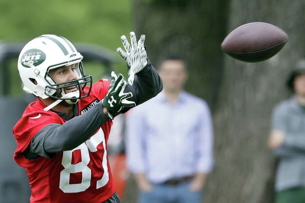 The Jets waived wide receiver Eric Decker on Monday.