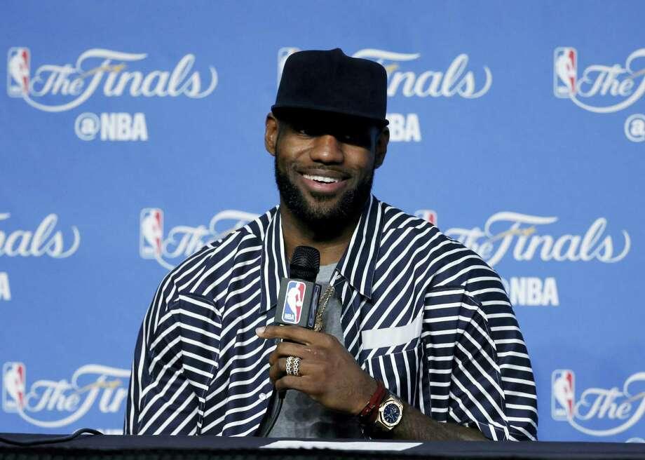 The Cavaliers' LeBron James. Photo: Ron Schwane — The Associated Press  / FR78273 AP