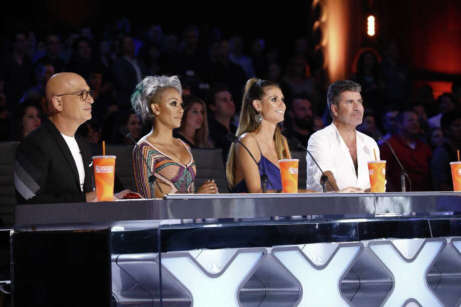 San Antonio's No. 1 summer prime-time show was NBC reality hit 'America's Got Talent,' featuring judges Howie Mandel, Mel B, Heidi Klum and Simon Cowell. Photo: Trae Patton /NBC / Associated Press / 2017 NBCUniversal Media, LLC