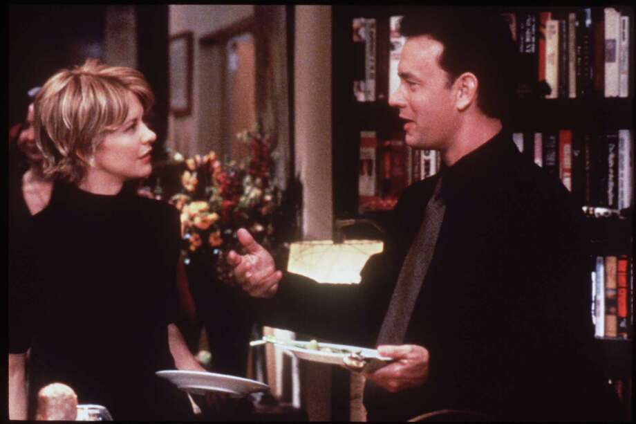 "Among the romantic comedies Nora Ephron directed was ""You've Got Mail,"" starring Meg Ryan and Tom Hanks. Photo: Brian Hamill / Handout  slide"