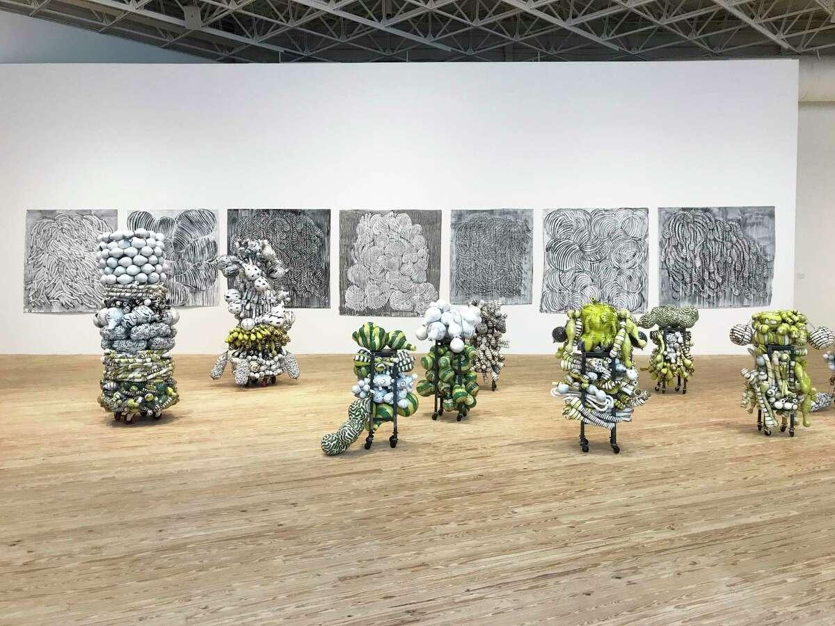 Pioneering ceramic artist Annabeth Rosen's first survey show,