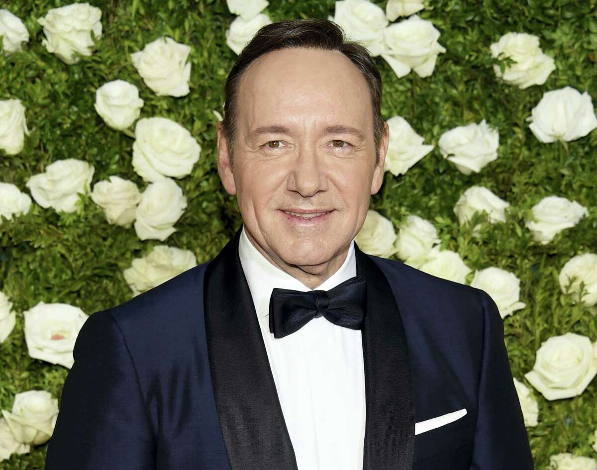 Kevin Spacey arrives at the 71st annual Tony Awards at Radio City Music Hall on Sunday in New York.