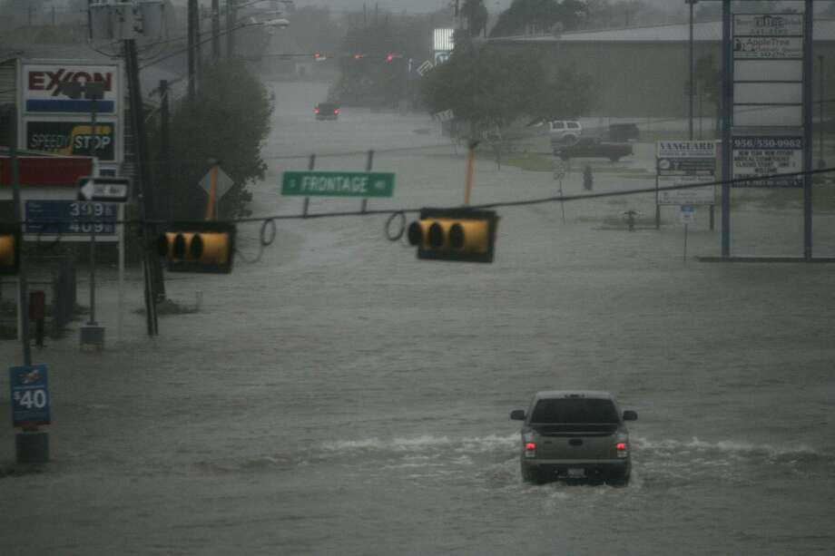 File photo of flooding in Brownsville during Hurricane Dolly in 2008. It may be a rude awakening for some San Antonians to find out that their standard homeowner's insurance policy doesn't cover floods. Same goes for renter's insurance. Flood insurance needs to be purchased separately through the National Flood Insurance Program, and won't do any good to buy it now since there's a 30-day waiting period before policies go into effect. Photo: Lisa Krantz /SAN ANTONIO EXPRESS-NEWS / SAN ANTONIO EXPRESS-NEWS