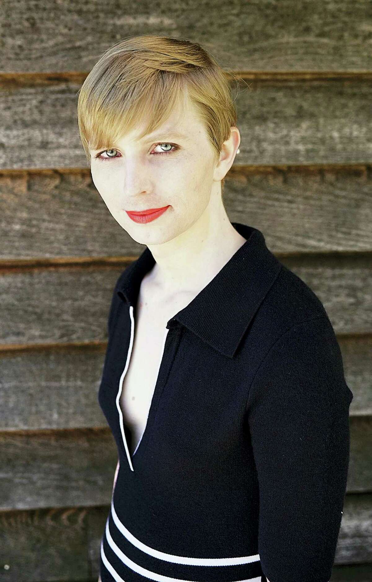 """This undated file photo provided by Chelsea Manning shows a portrait of her that she posted on her Instagram account on Thursday, May 18, 2017. Manning said she had """"a responsibility to the public"""" to leak a trove of classified documents in her first interview following her release from a federal prison broadcast Friday, June 9, on ABC's """"Good Morning America."""""""