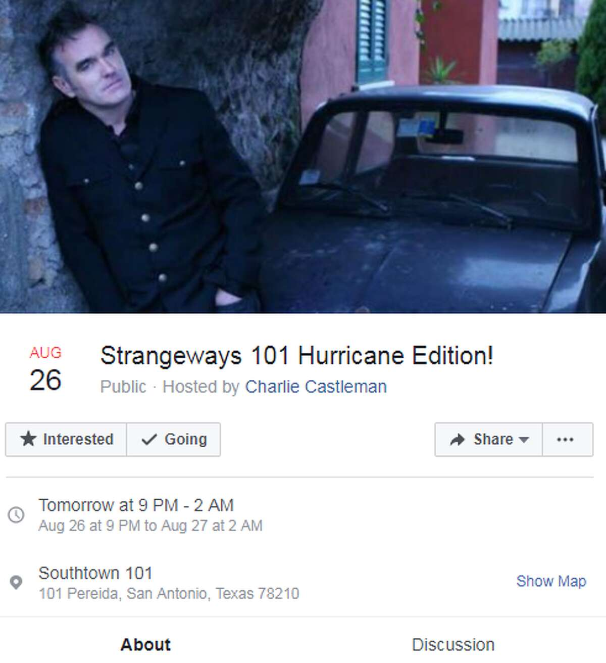 Strangeways 101 Hurricane Edition at Southtown 101