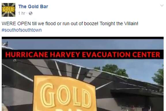 """The Gold Bar is open until they """"flood or run out of booze."""""""