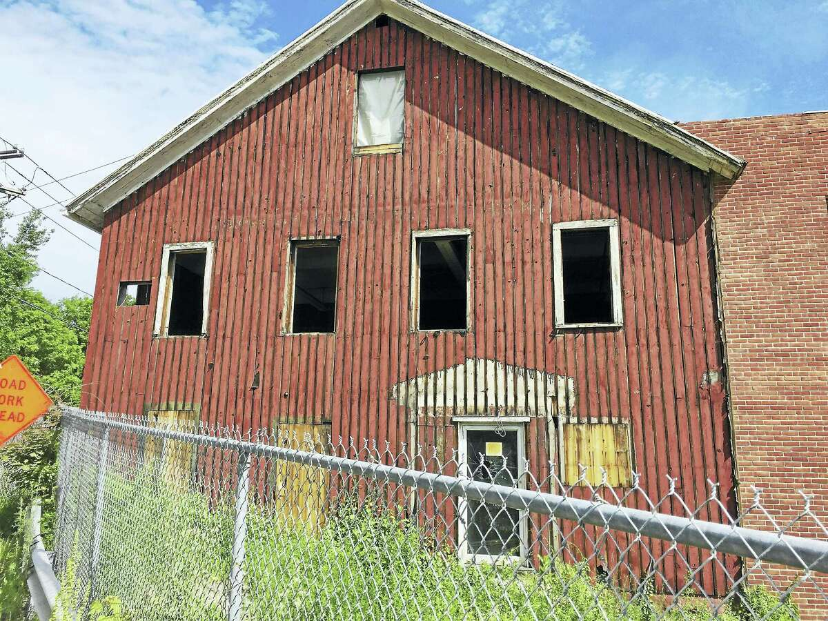 The former Lambert Kay property, as seen Friday on Lake Street in Winsted.