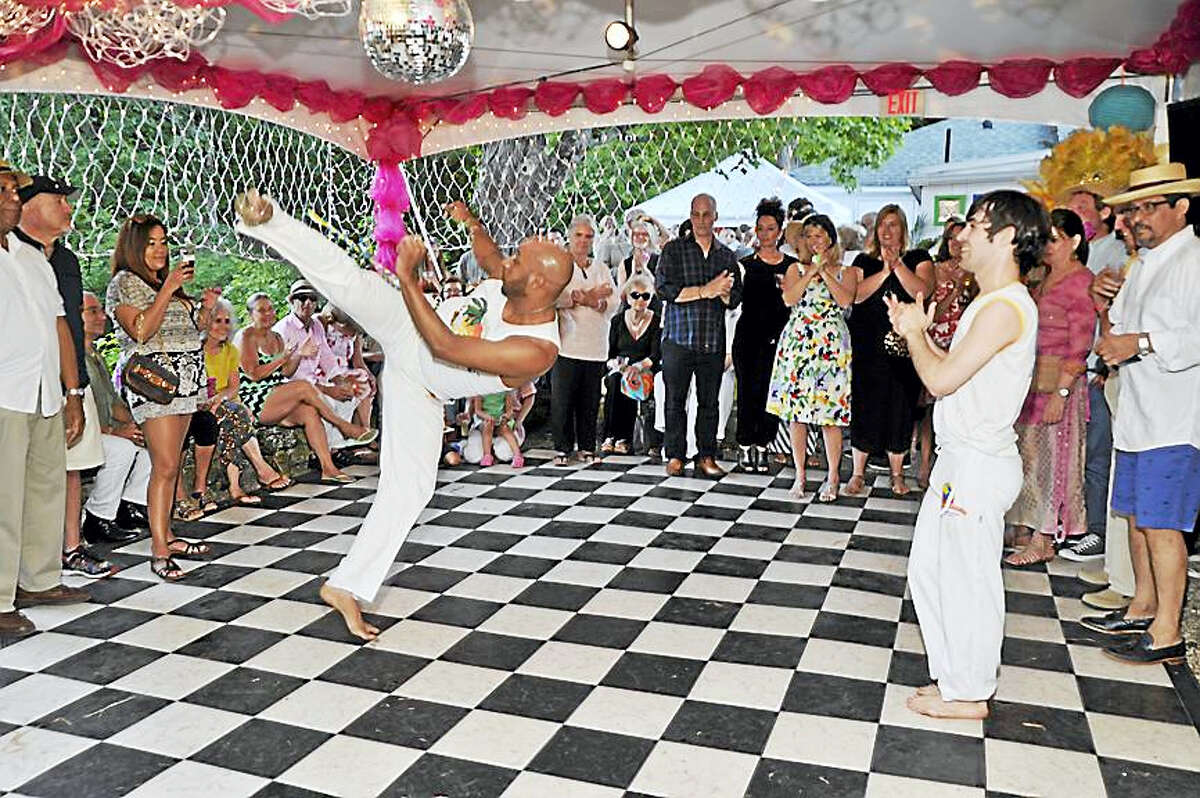 The Washington Art Association & Gallery is thrilled to announce that our 9th annual Summer Solstice Festival will take place on June 17, 2017 from 6 - 9pm. Artists, collectors, celebrities and revelers come from near and far to enjoy a tropical summer evening while contributing to a great cause. Delicious food, music, drink and décor with a Caribbean theme transform WAA into a carnival of the senses.Tickets for the event are $50 and may be purchased by calling the Washington Art Association: 860.868.2878 or via email washingtonart@snet.net Image: Ginga Brasileira will perform their unique blend of Samba and Capoeira and Ochun will play live Cuban music at Washington Art Association & Gallery's 9th Annual Summer Solstice on June 17, 2017.