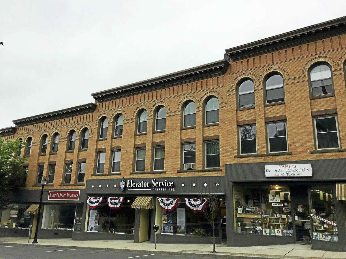 """Many businesses on Water Street, as seen this week in Torrington, are taking part in """"Pop Up Water Street"""" this summer."""