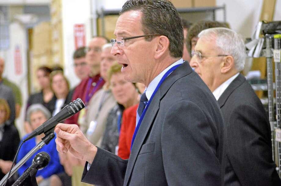 Gov. Dannel P. Malloy Photo: Register Citizen File Photo