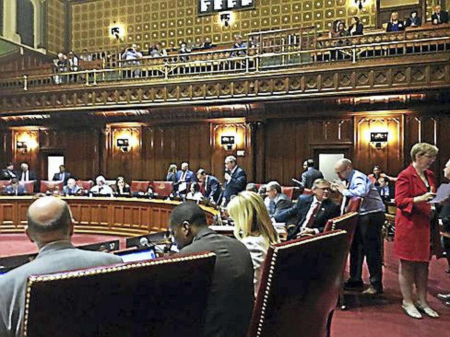 State Senate chamber Photo: Jack Kramer — Ctnewsjunkie