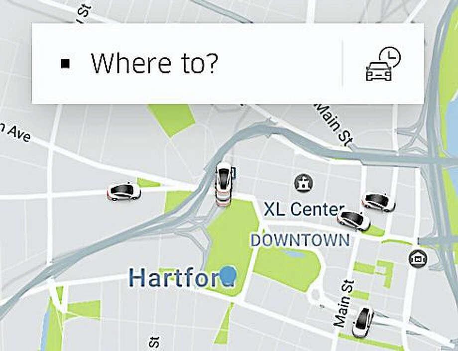 Uber App Photo: Digital First Media