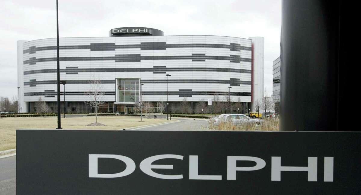 Delphi's World Headquarters is shown in Troy, Mich.