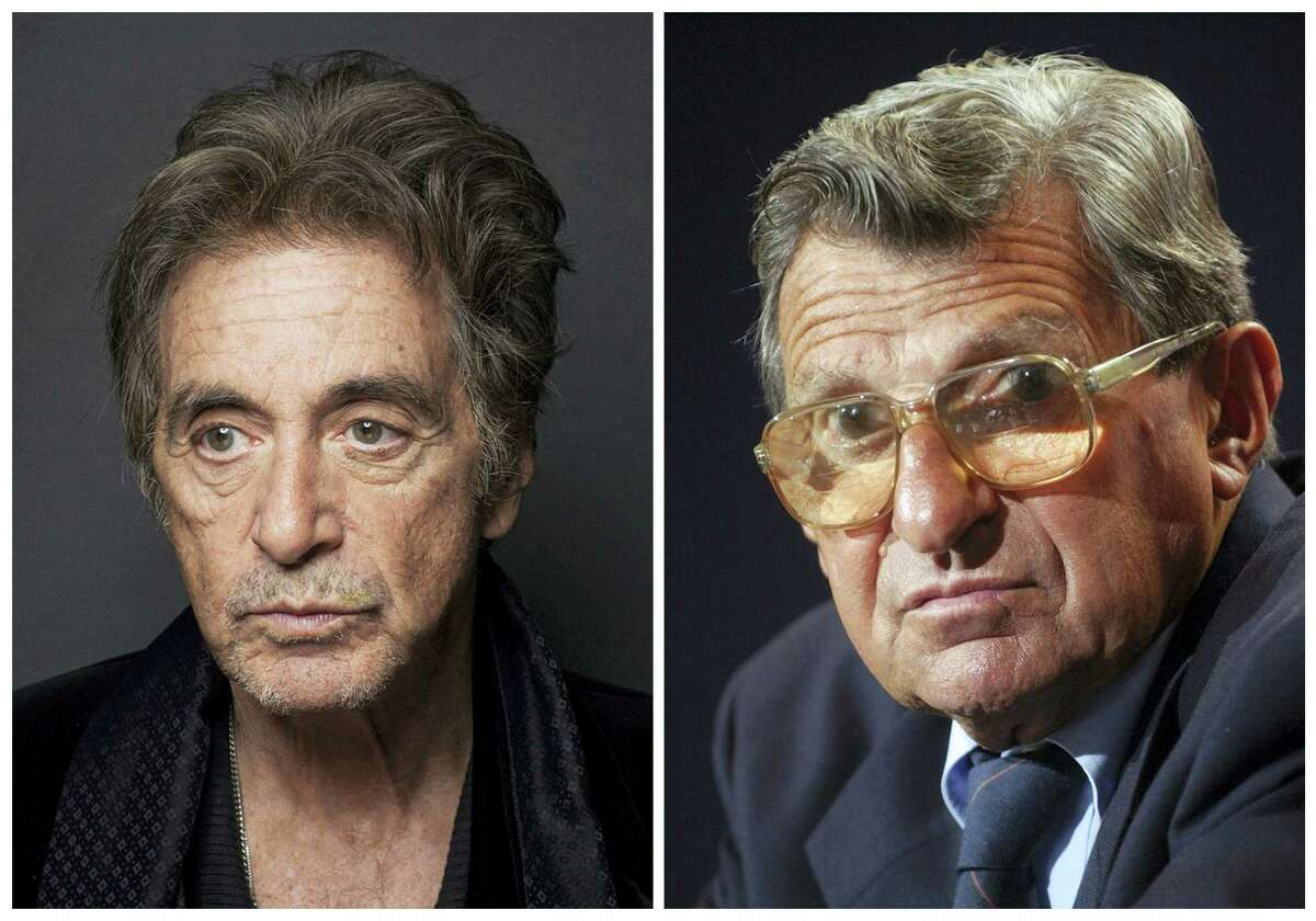 Al Pacino, left, will play Penn State football coach Joe Paterno in an upcoming HBO biopic.