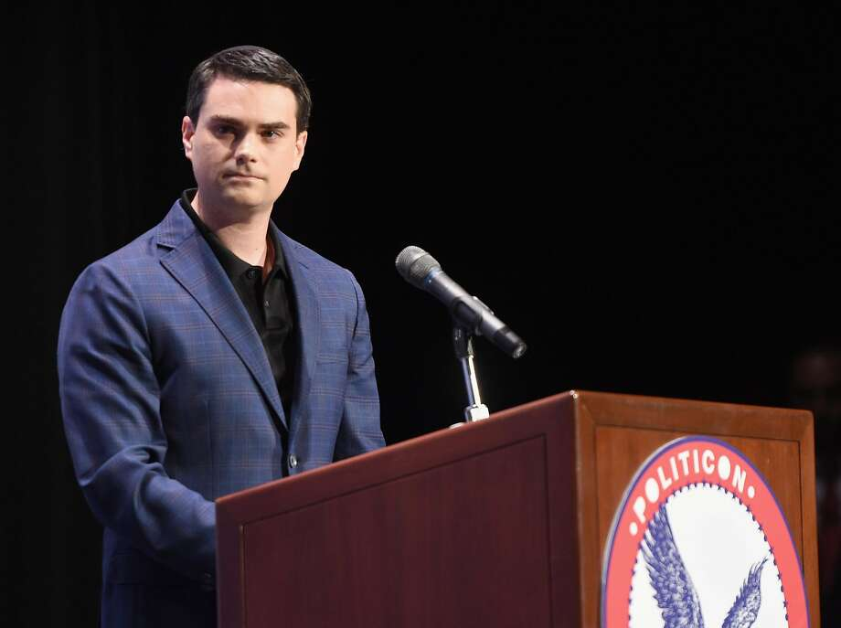 Ben Shapiro at the 'Cenk Uygur vs. Ben Shapiro' panel during Politicon at Pasadena Convention Center on July 30, 2017 in Pasadena, California.  (Photo by Joshua Blanchard/Getty Images  for Politicon) Photo: Joshua Blanchard, Getty Images  For Politicon