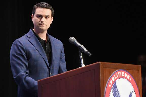 PASADENA, CA - JULY 30:  Ben Shapiro at the 'Cenk Uygur vs. Ben Shapiro' panel during Politicon at Pasadena Convention Center on July 30, 2017 in Pasadena, California.  (Photo by Joshua Blanchard/Getty Images  for Politicon)
