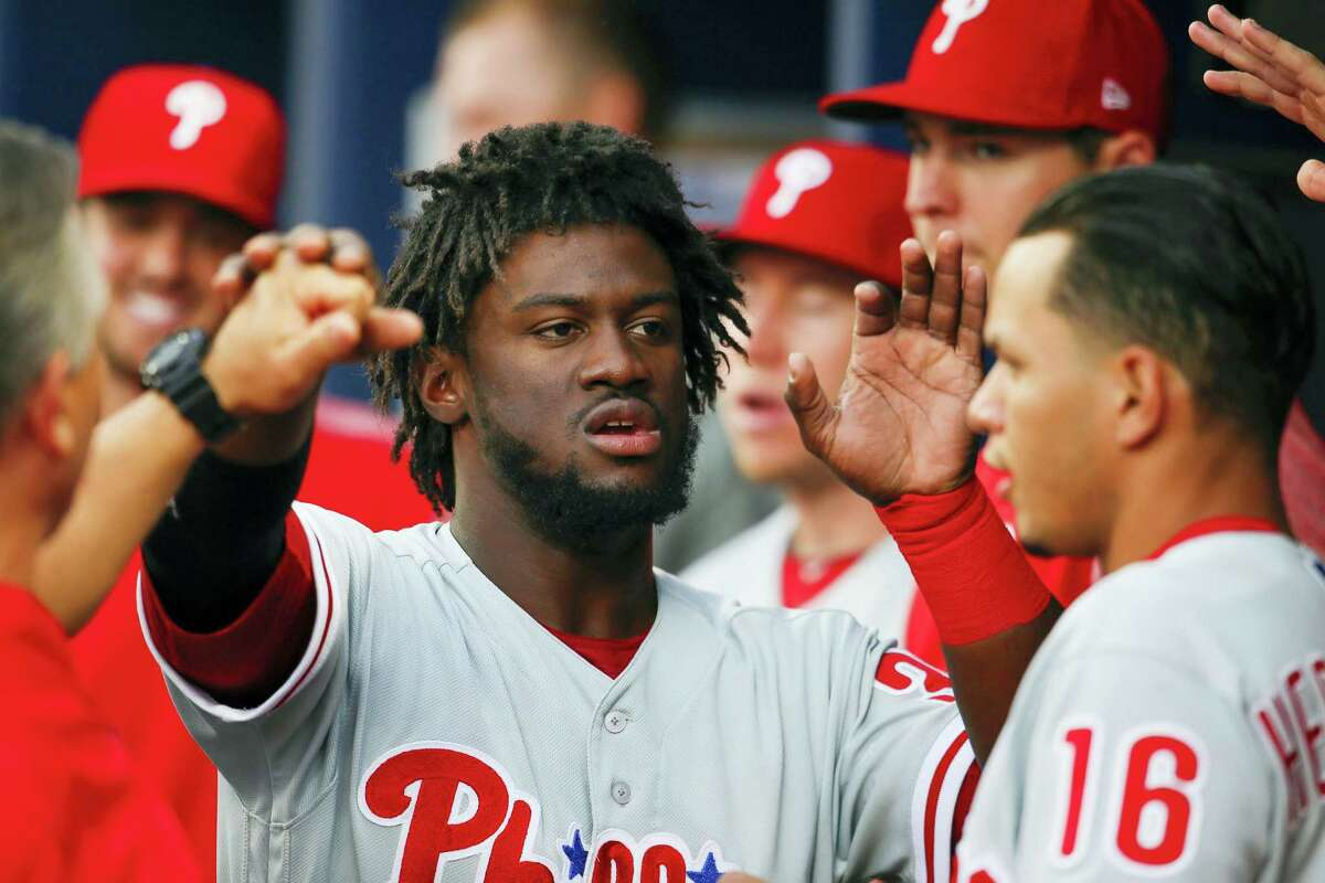 Phillies center fielder Odubel Herrera.