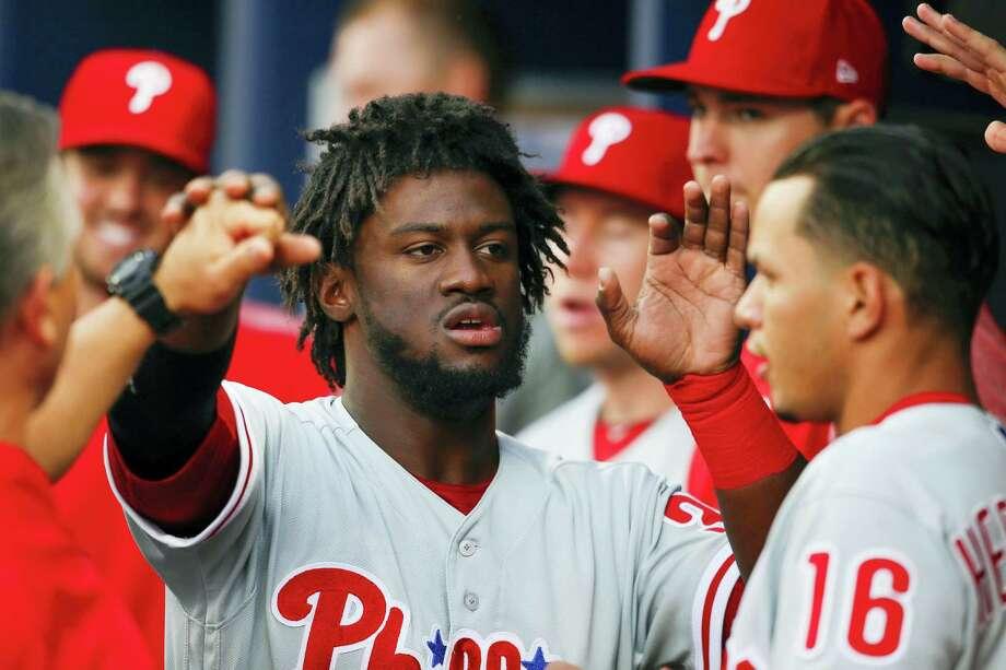 Phillies center fielder Odubel Herrera. Photo: The Associated Press File Photo  / 2016