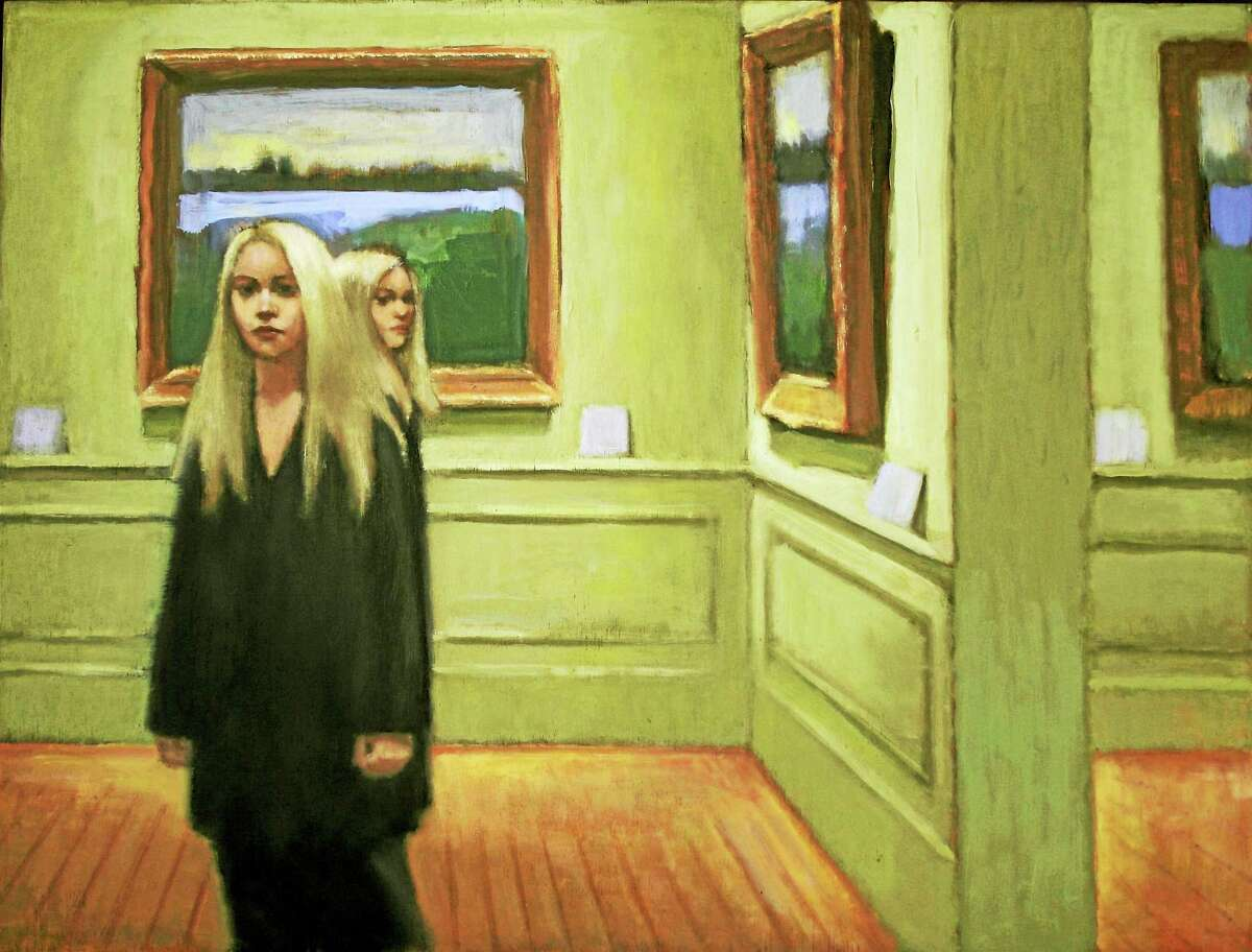 """""""Two of a Kind,"""" Oil on linen, 18 x 12, by Judith Wyer."""
