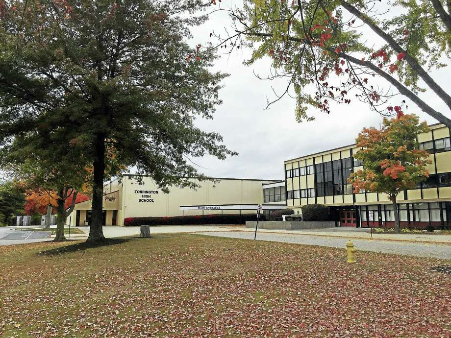 A teen was arrested Monday for allegedly writing threatening messages on walls of bathrooms in Torrington High School. Photo: Ben Lambert — The Register Citizen