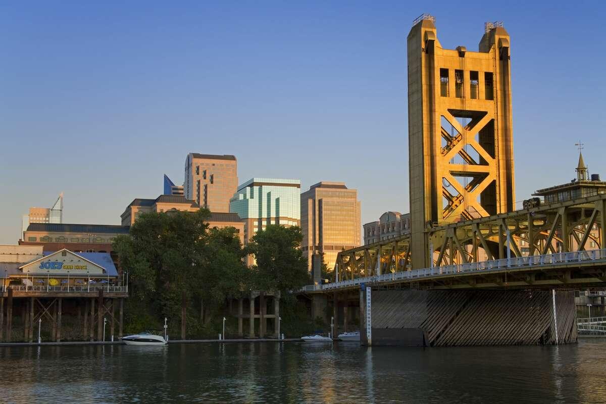 Sacramento High temperature: 103