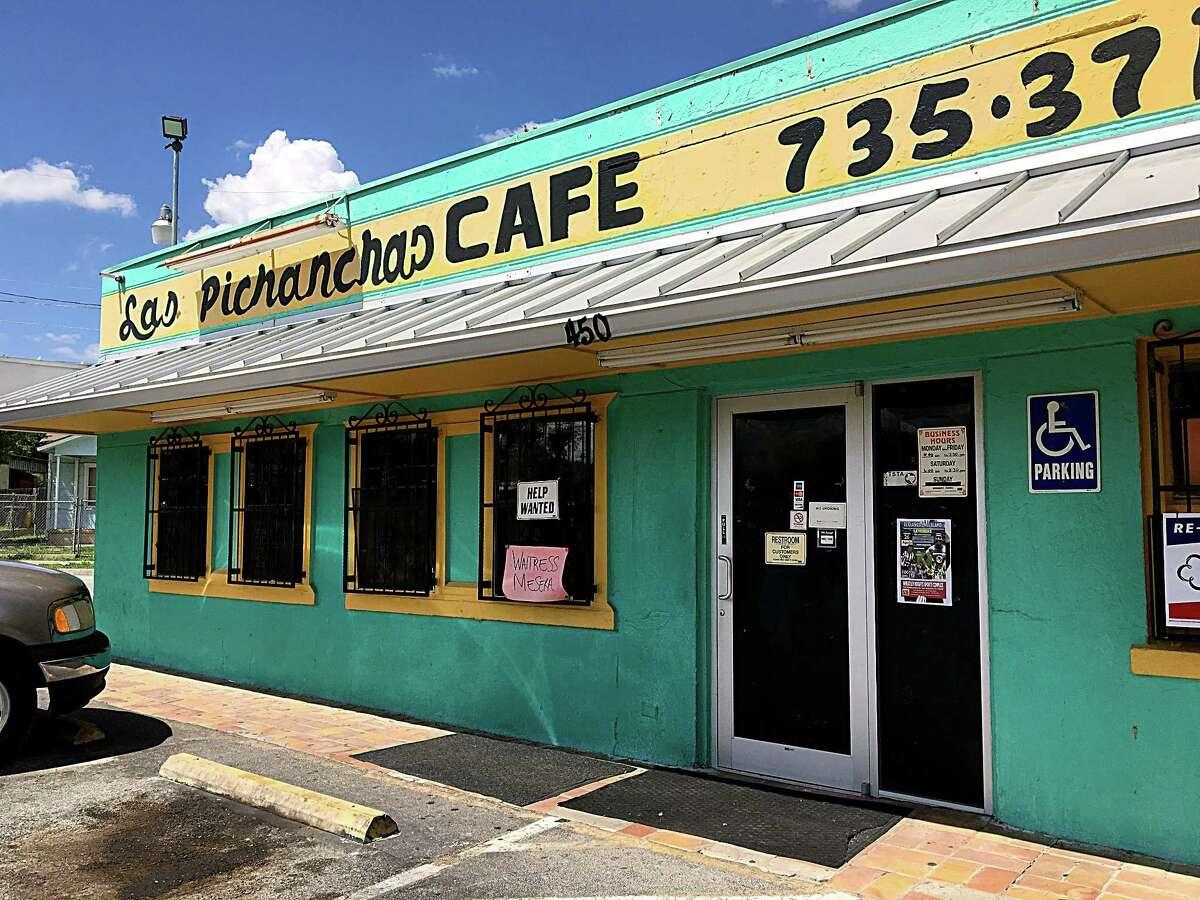 Las Pichanchas Cafe on Fredericksburg Road.