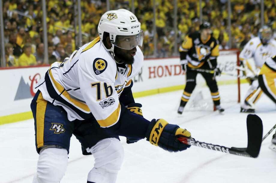 P.K. Subban says there is 'no question' the Predators will win Game 3 of the Stanley Cup Finals. Photo: Keith Srakocic — The Associated Press  / Copyright 2017 The Associated Press. All rights reserved.