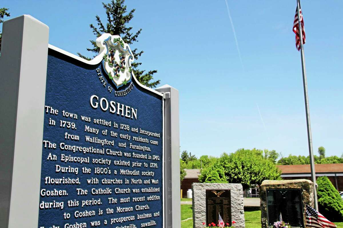 The Goshen Town Hall is located on Route 4.