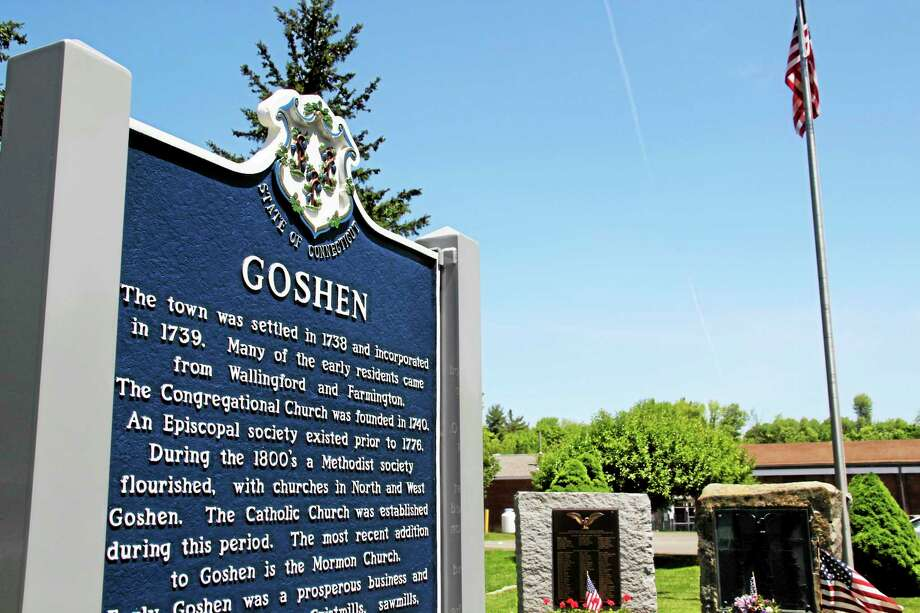 The Goshen Town Hall is located on Route 4. Photo: Register Citizen File Photo