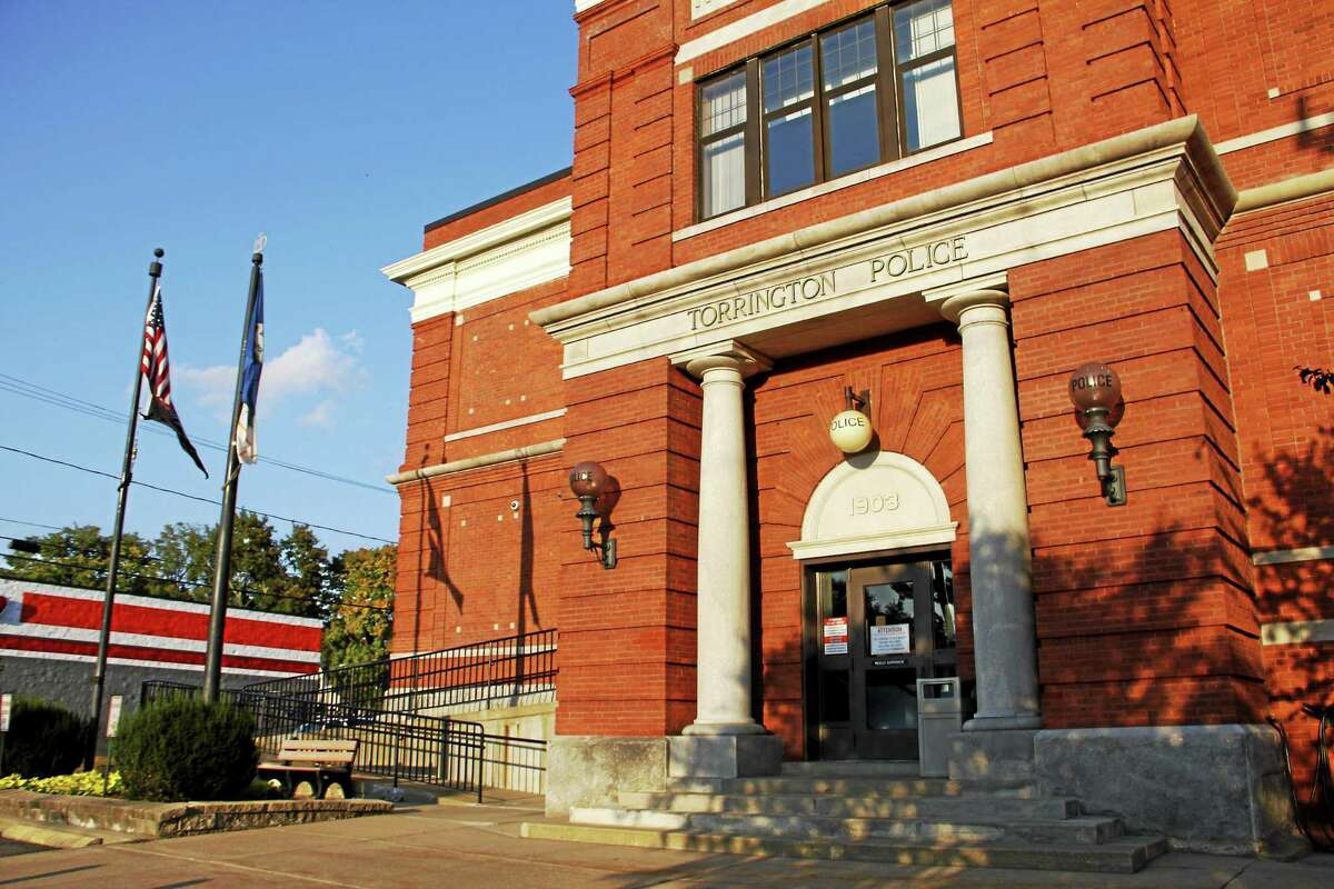 The Torrington Police Department building.