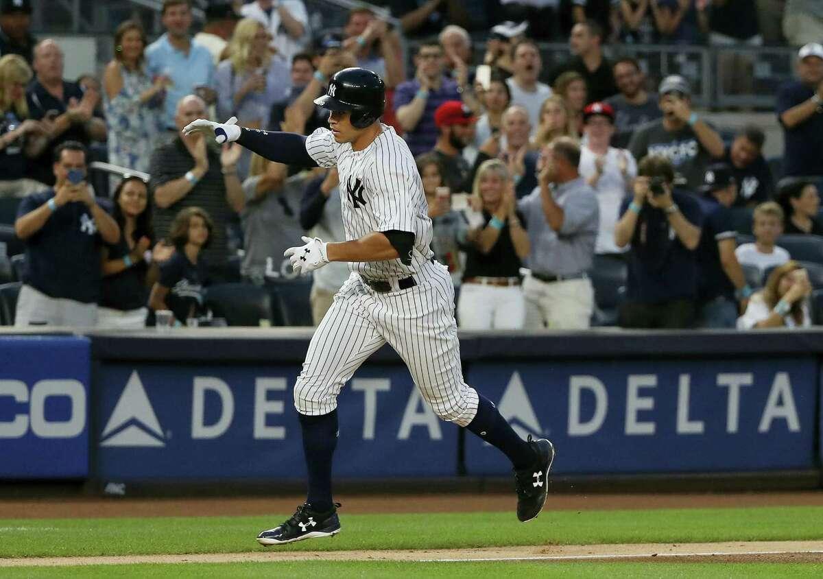 The Yankees' Aaron Judge.
