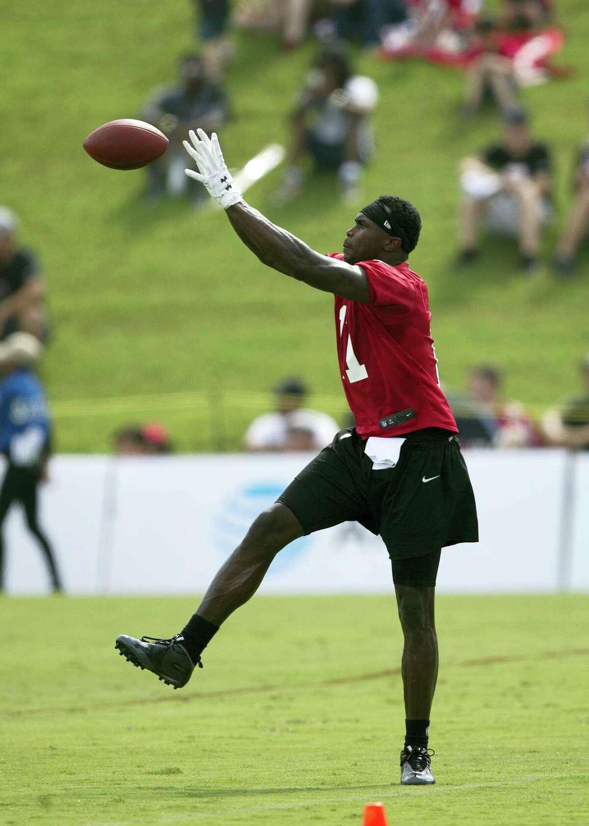 Atlanta Falcons wide receiver Julio Jones.