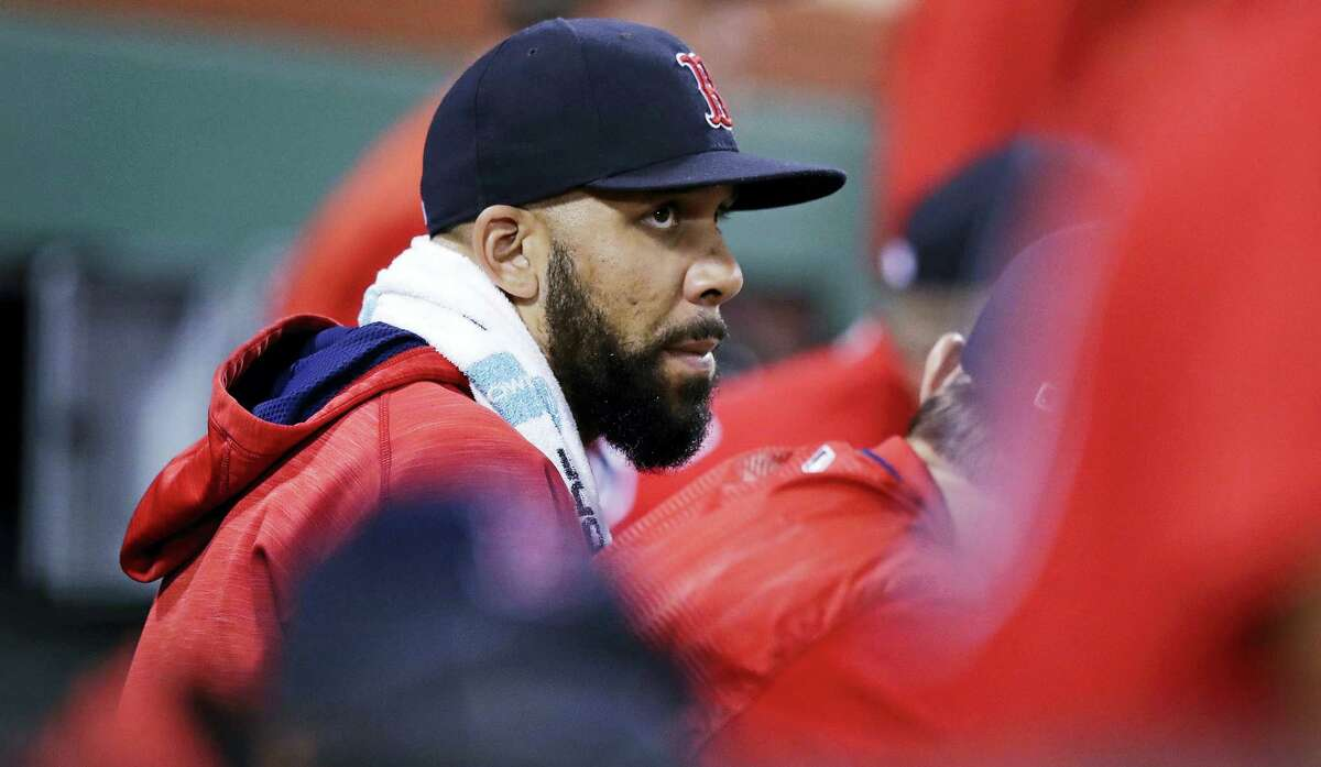 Red Sox starting pitcher David Price.