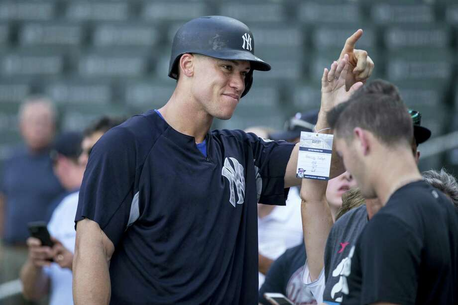 Yankees right fielder Aaron Judge. Photo: The Associated Press File Photo  / FR170893 AP