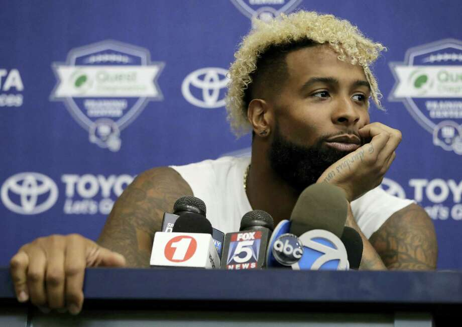 Giants wide receiver Odell Beckham. Photo: Julio Cortez — The Associated Press  / Copyright 2017 The Associated Press. All rights reserved.