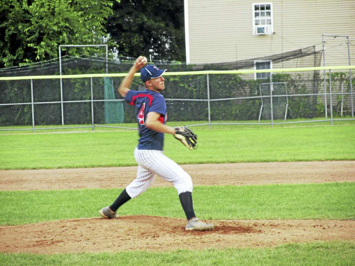 Paul Cisowski pitched a complete-game win for Torrington over Terryville in the Northwest Connie Mack league's opening playoff round Friday evening at Fuessenich Park.