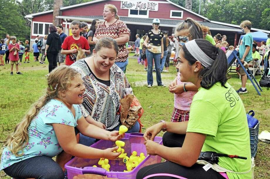 Camp MOE held its annual summer carnival Thursday evening in Torrington. Photo: Ben Lambert / Hearst Connecticut Media