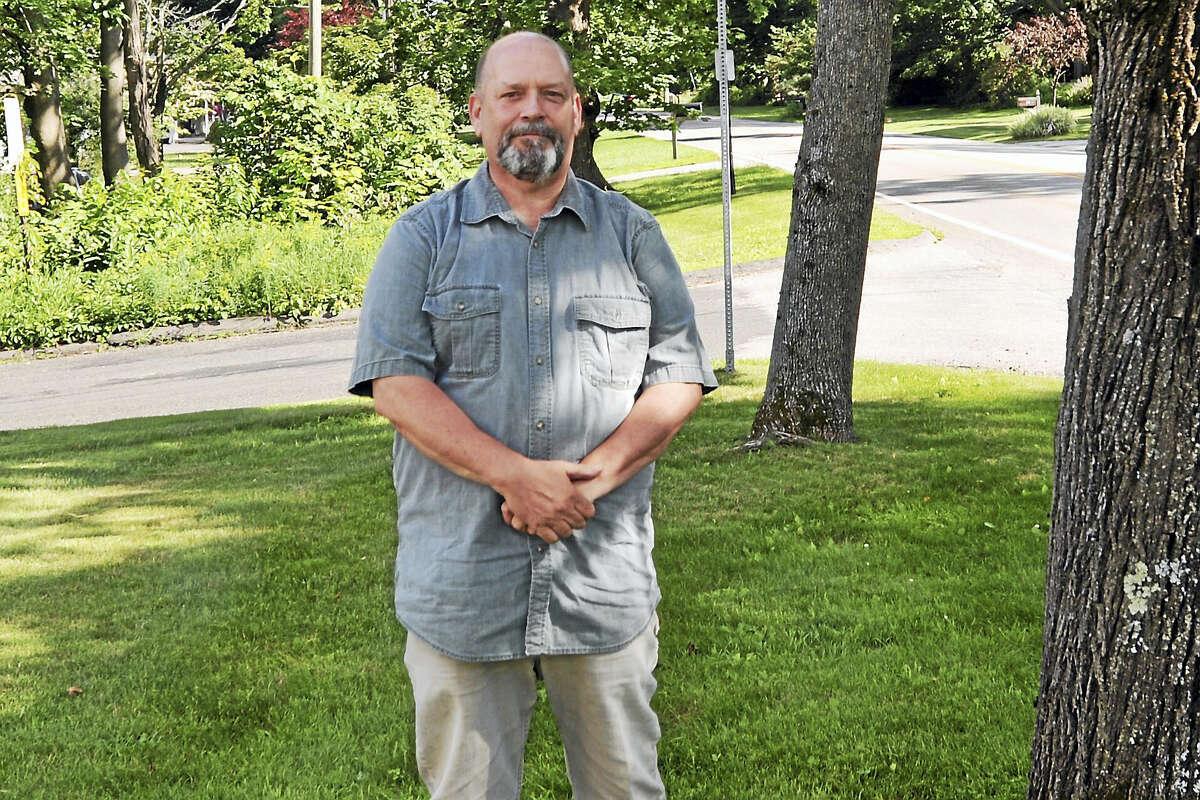 Kevin DeRoehn, president of the Morris Volunteer Fire Department, is running for first selectman.